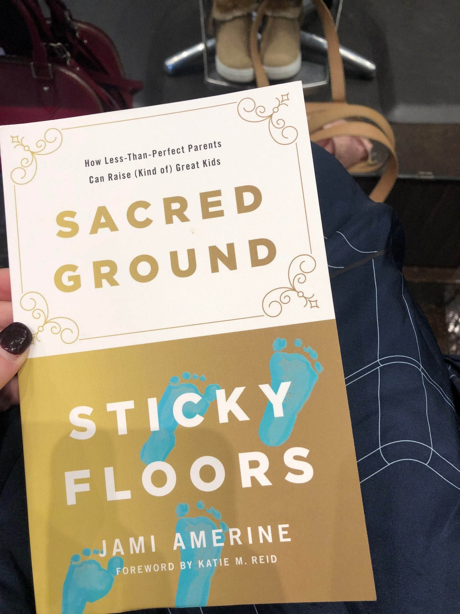 a photo of Sacred Ground, Sticky Floors