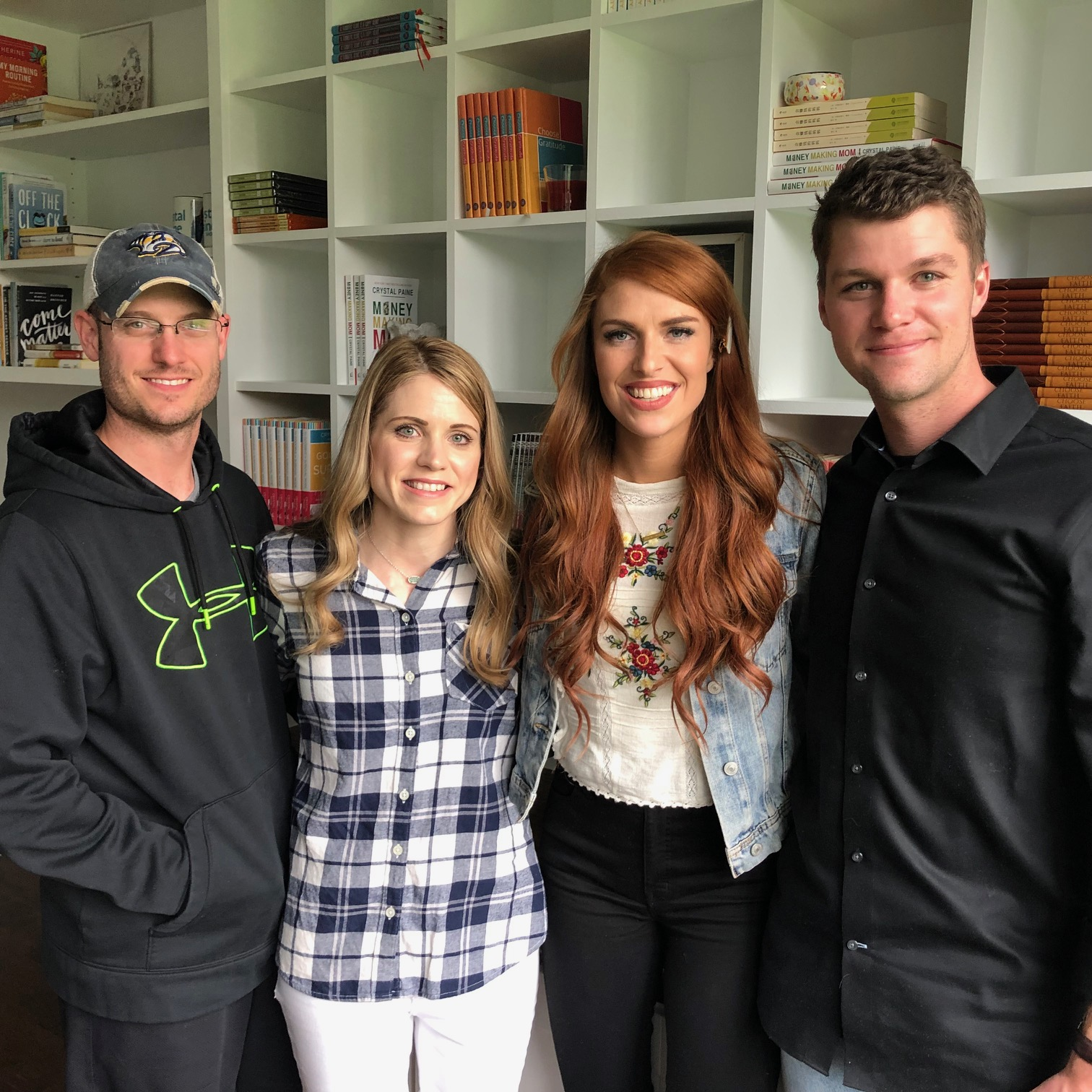 Jesse and Crystal Paine with Audrey & Jeremy Roloff